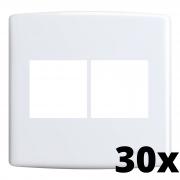 Kit 30 und Siena Placa 4x4 2 Seções + 2 Seções