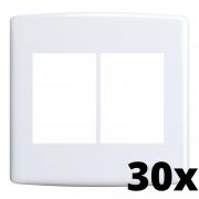 Kit 30 und Siena Placa 4x4 3 Seções + 3 Seções