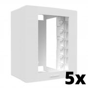 Kit 5 und Inova Pró Caixa Externa Para 3 Módulos