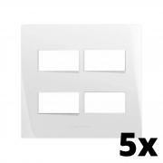 Kit 5 und Inova Pró Placa 4x4 2 Seções + 2 Seções