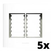 Kit 5 und Inova Pró Placa 4x4 3 Seções + 3 Seções