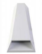 MBLED Arandela Branca Mid 2Fachos 5w 800lm 3000k IP65 Bivolt