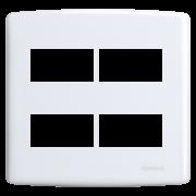 Siena Placa 4x4 2 Seções + 2 Seções Distanciadas
