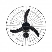 Ventisol Ventilador de Parede Preto 60cm 147w 127v