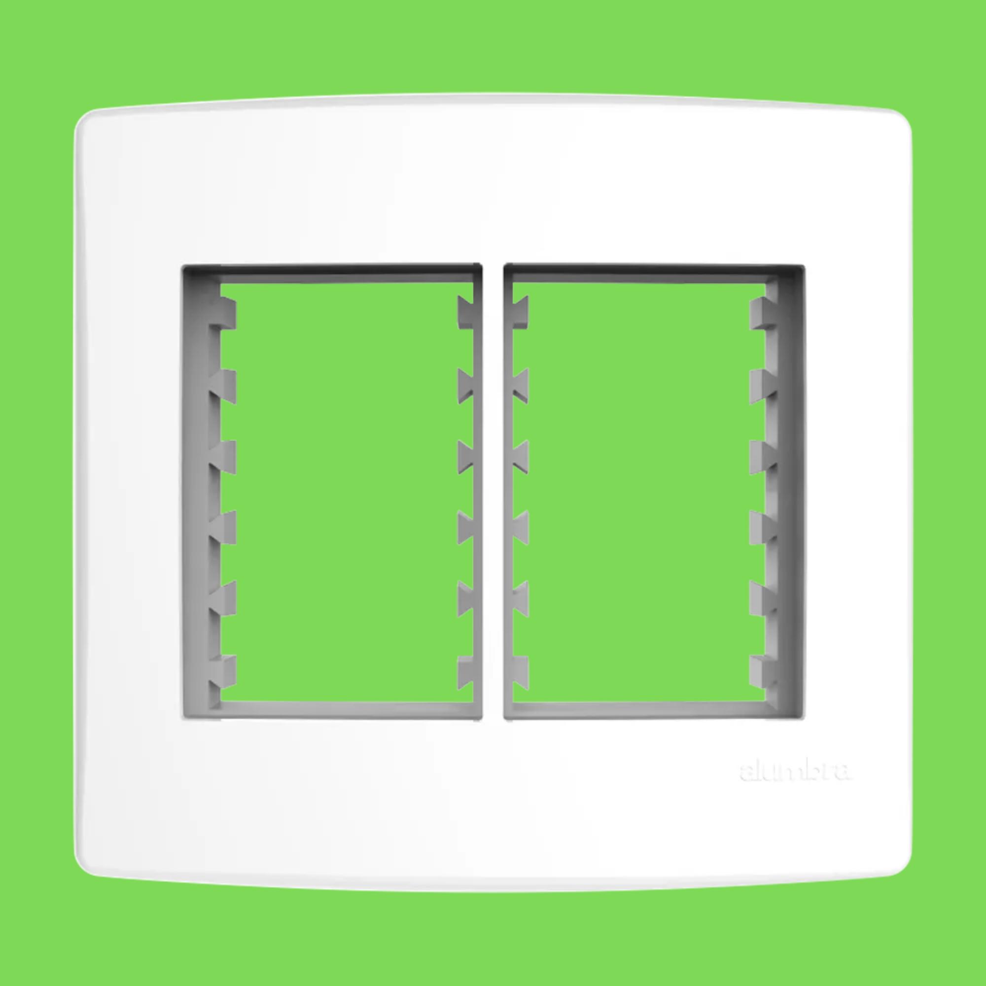 Alumbra Bianco Pró Placa 4x4 3 Seções + 3 Seções