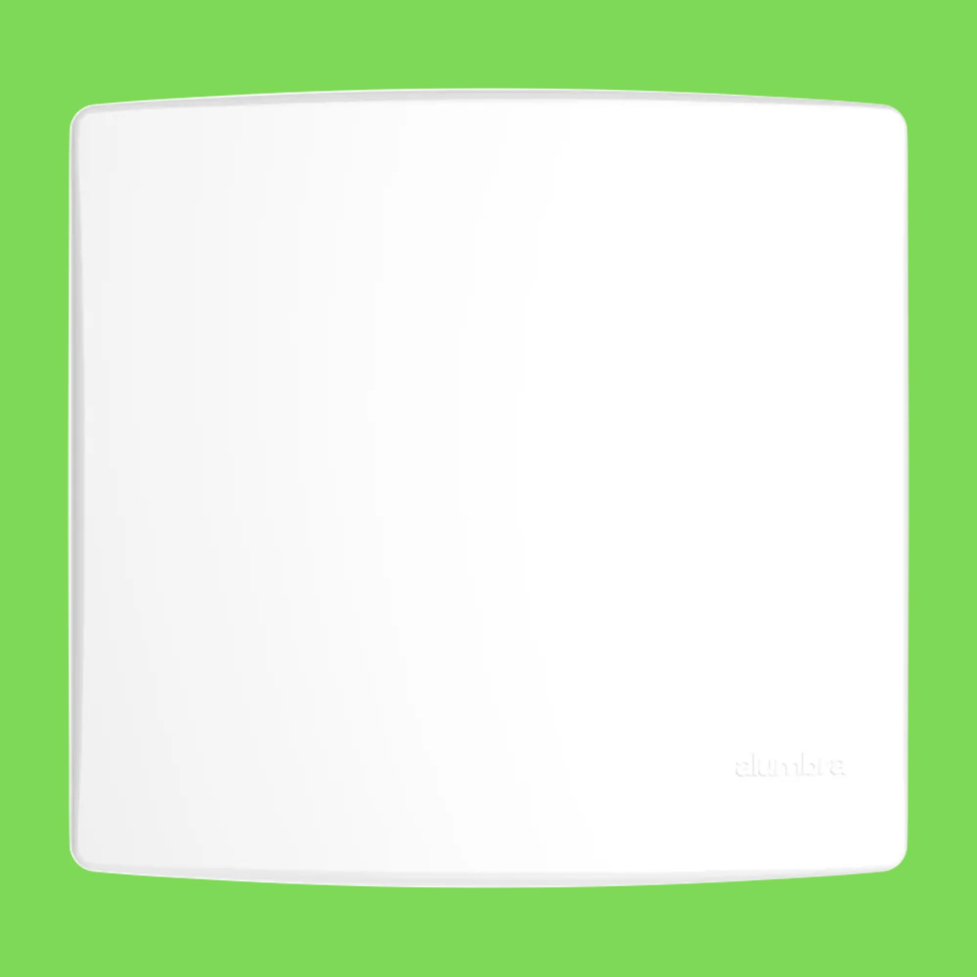 Alumbra Bianco Pró Placa 4x4 Cega