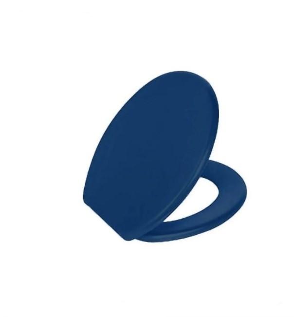 Assento Sanitário Almofadado Azul AZ 11