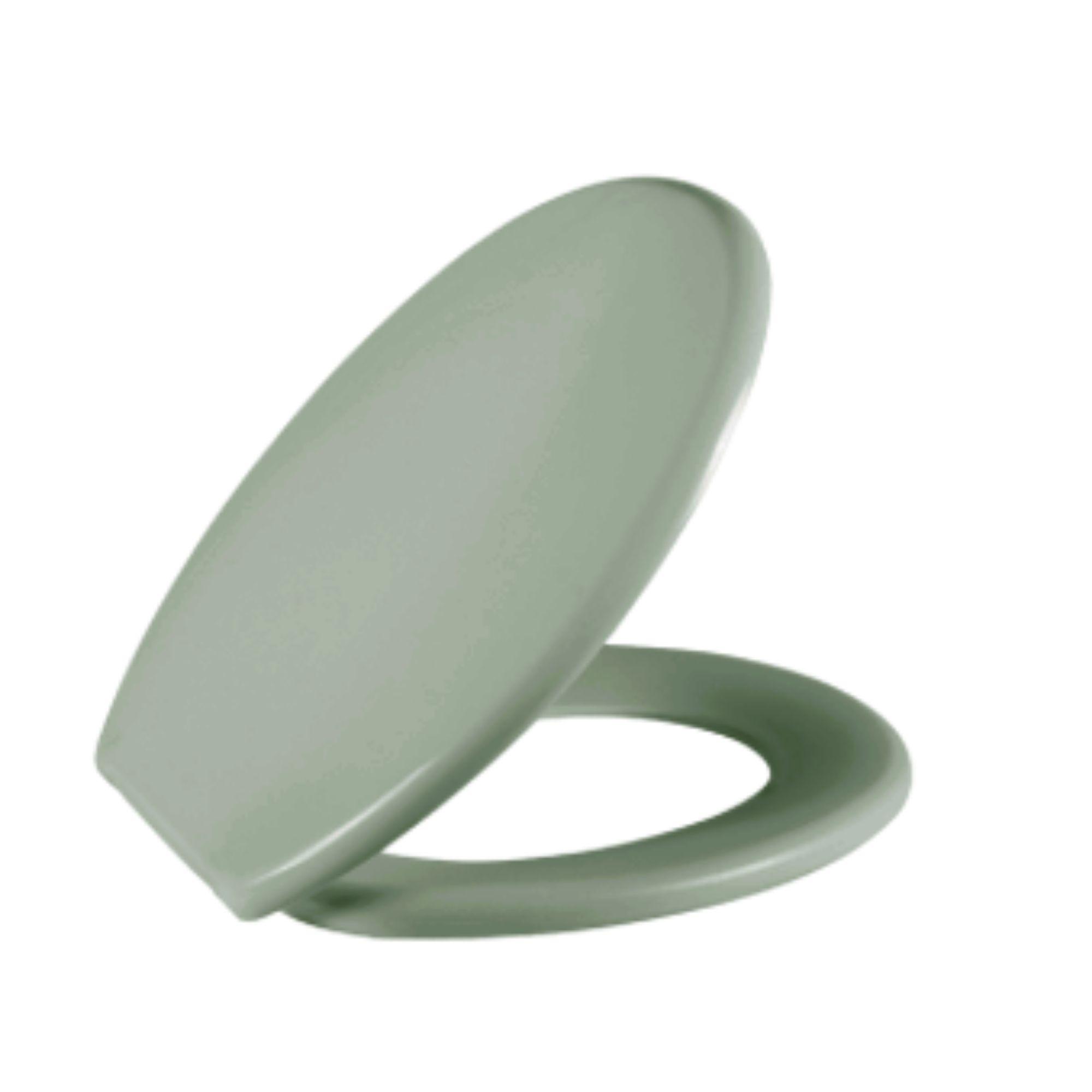 Assento Sanitário Oval Soft Verde VD6