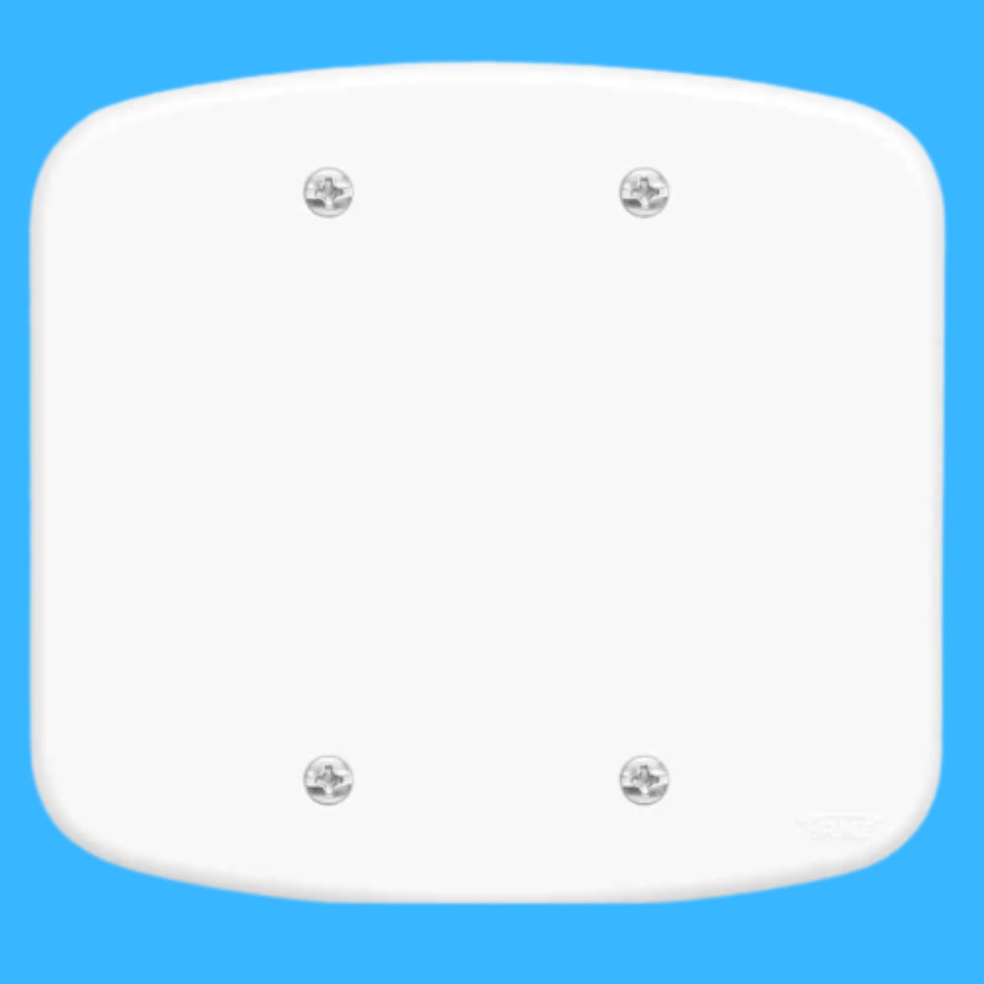Blanc Placa 4x4 Cega