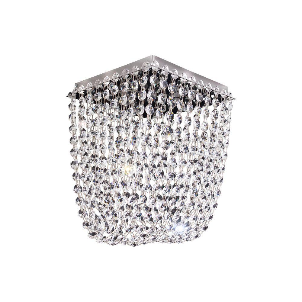 Bronzearte Plafon Pandora de 4 Lâmpadas Com Bocal G9