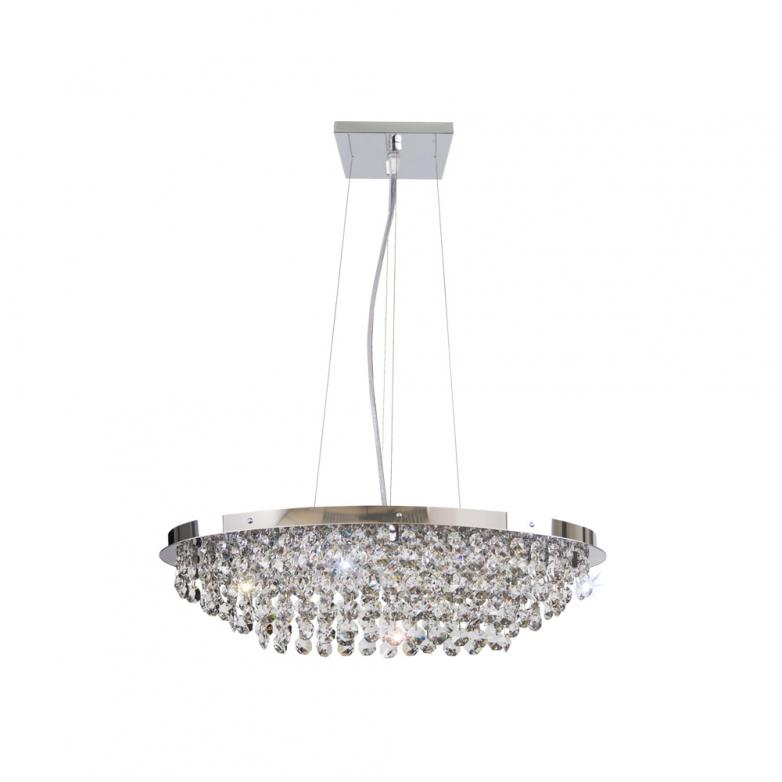 Bronzearte Pendente Italia Oval 50x30cm 6 Lamp G9