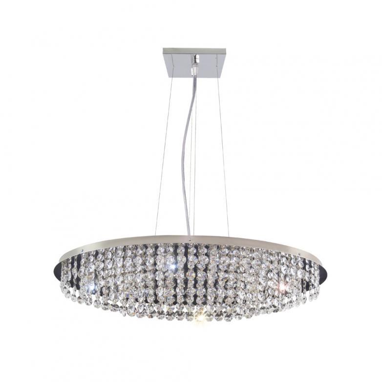 Bronzearte Pendente Italia Oval 66x40cm 10 Lamp G9
