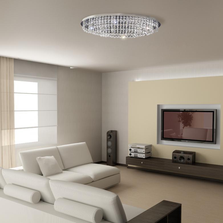 Bronzearte Plafon Italia Oval 66x40cm 10 Lamp G9