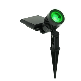 Ecoforce Espeto Spot Solar ABS 10 Lumens Luz Verde
