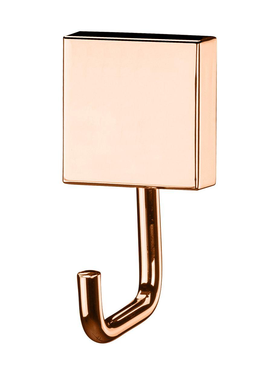 Future Gancho Multiuso Rosé Gold Aço Carbono Com Kit Fixação