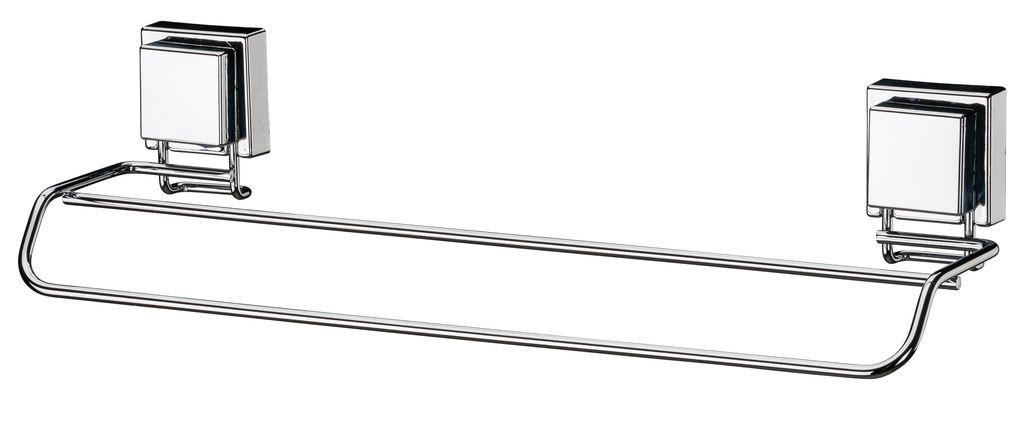 Future Toalheiro Duplo 45 Cm Aço Inox Com Ventosa 7008