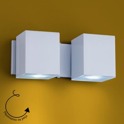 Ideal Arandela Branca de Alumínio Articulada 2 X Gu10 A-92