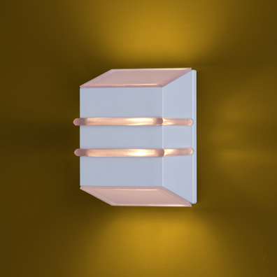Ideal Arandela Branca em Alumínio de 1 Lâmpada G9 956