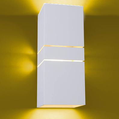 Ideal Arandela Branca em Alumínio de 1 x E-27 992-TV