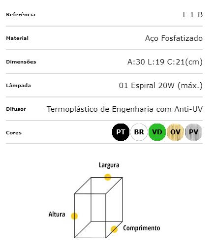 Ideal Arandela Ouro Velho Sextavada em Aço Fosfatizado L-1-B