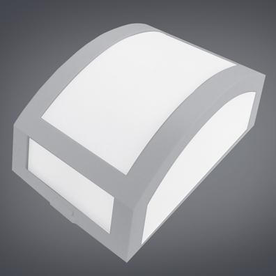 Ideal Arandela Pequena de Policarbonato de 1 Lâmpada 4236