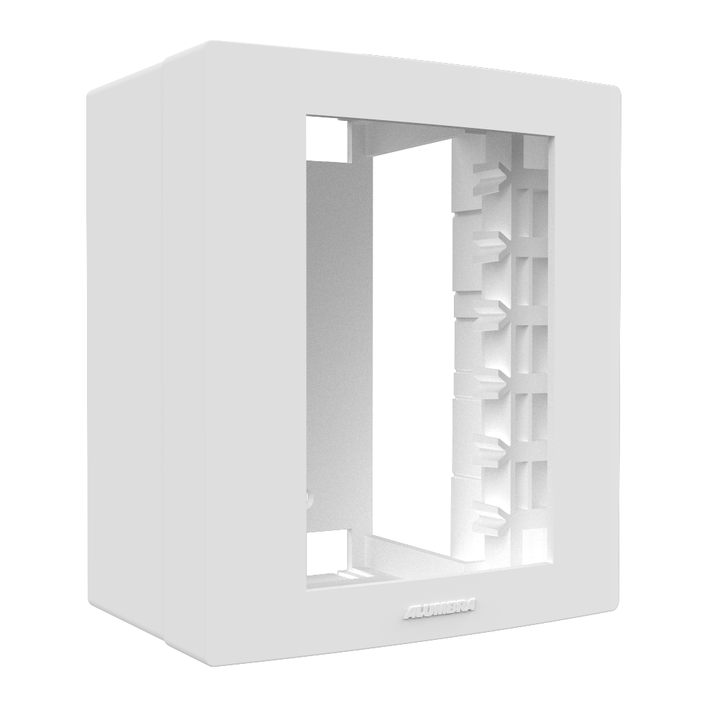 Inova Pro Caixa Placa 3 Módulos Branco