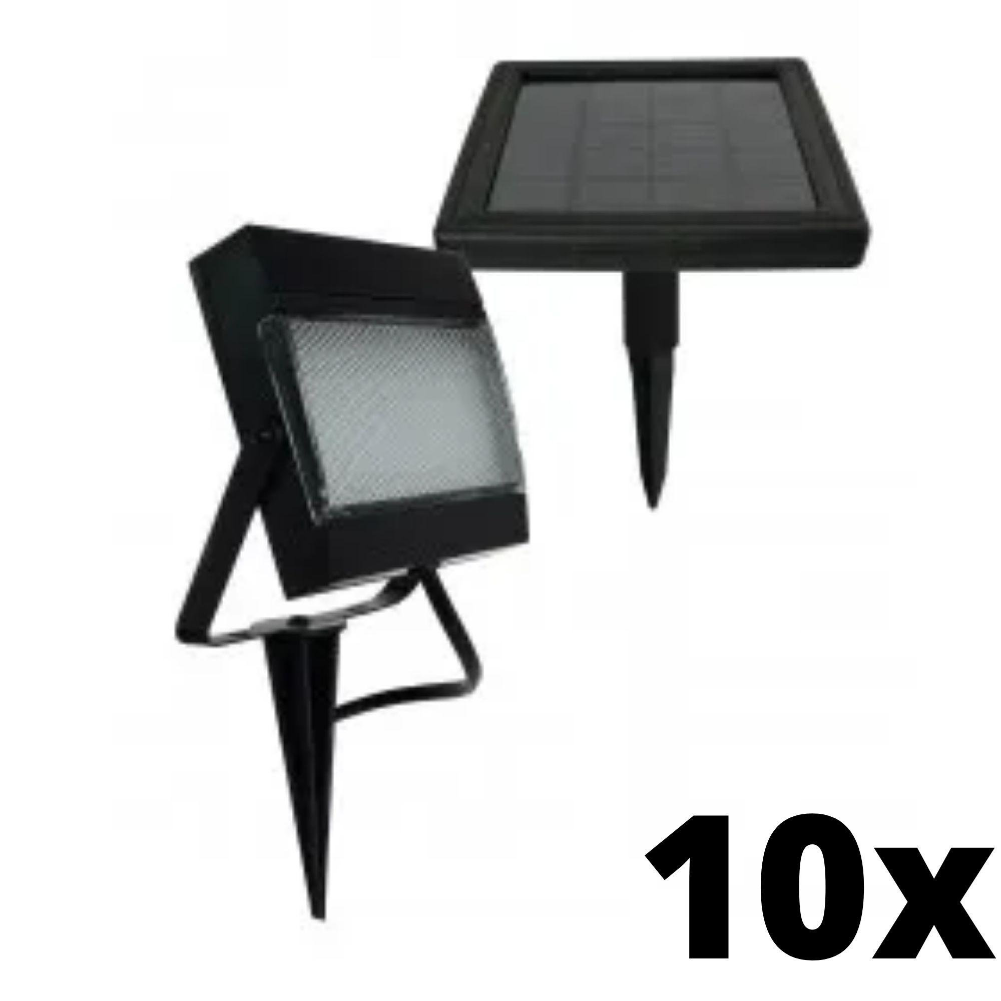 Kit 10 und Ecoforce Refletor Solar 6500k 200 Lumens IP54