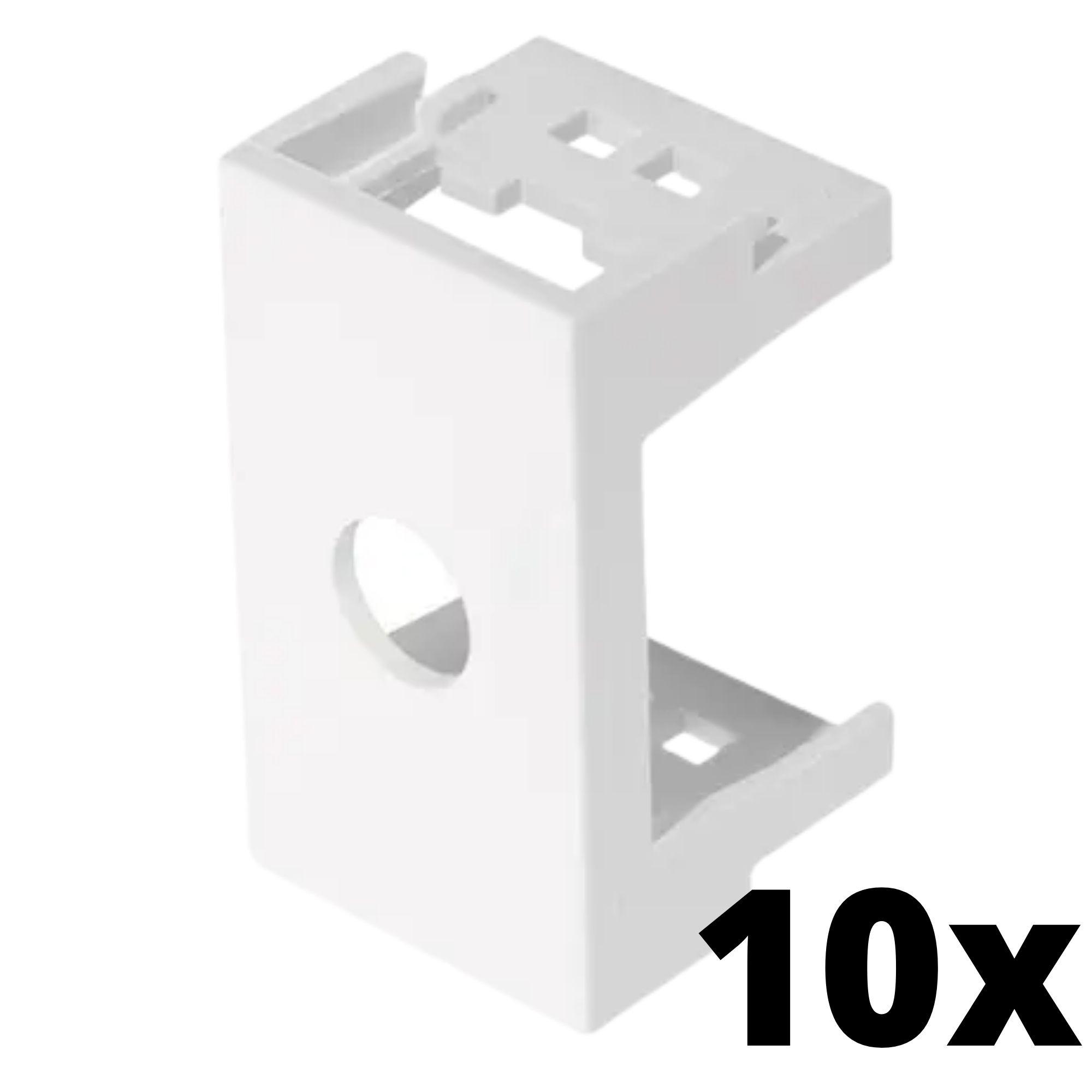 Kit 10 und Evidence Módulo Com Furo