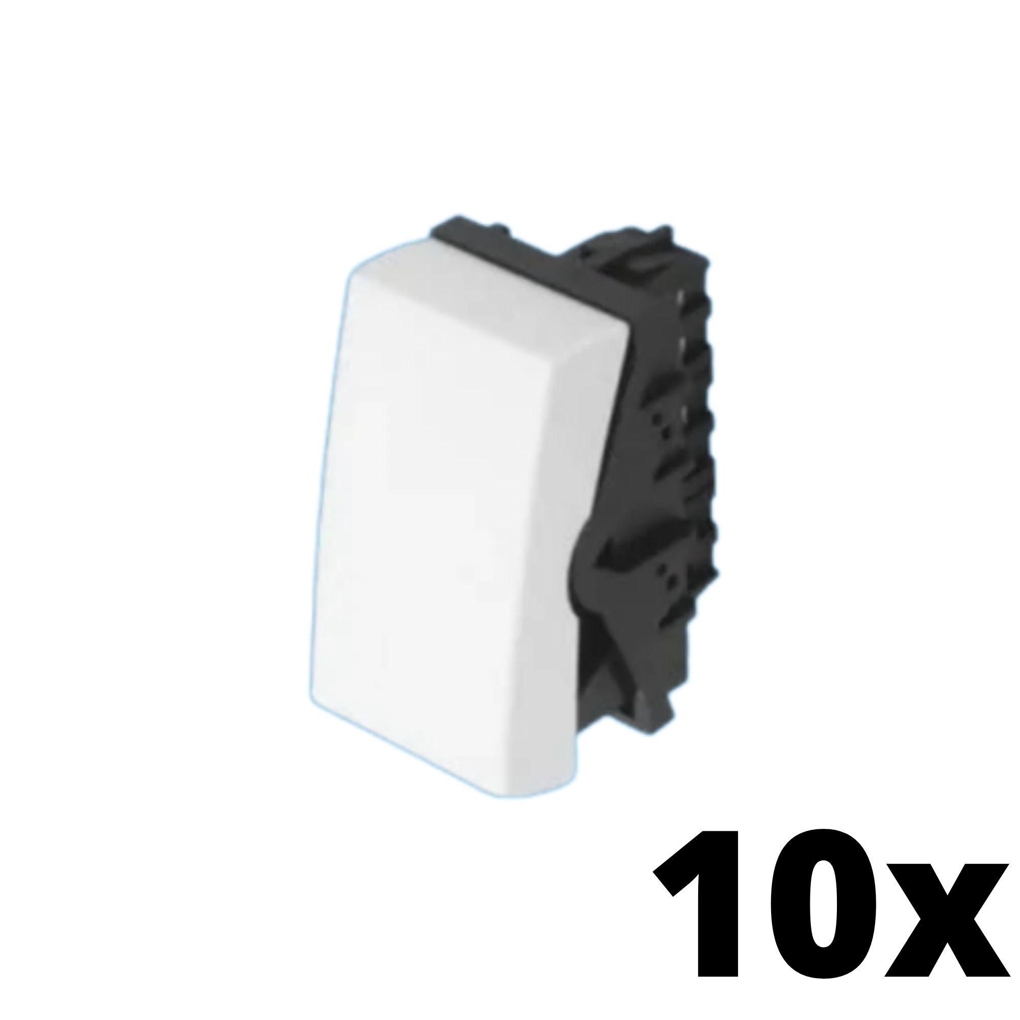 Kit 10 und  Evidence Módulo de Interruptor Simples