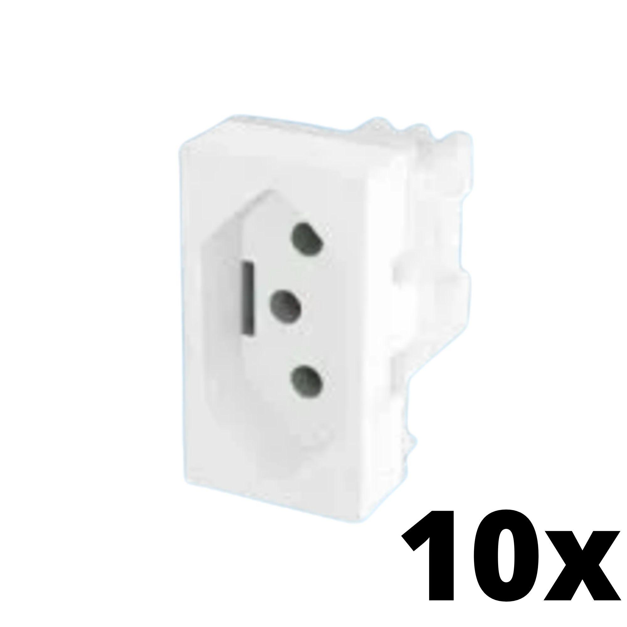 Kit 10 und Evidence Módulo de Tomada 10A
