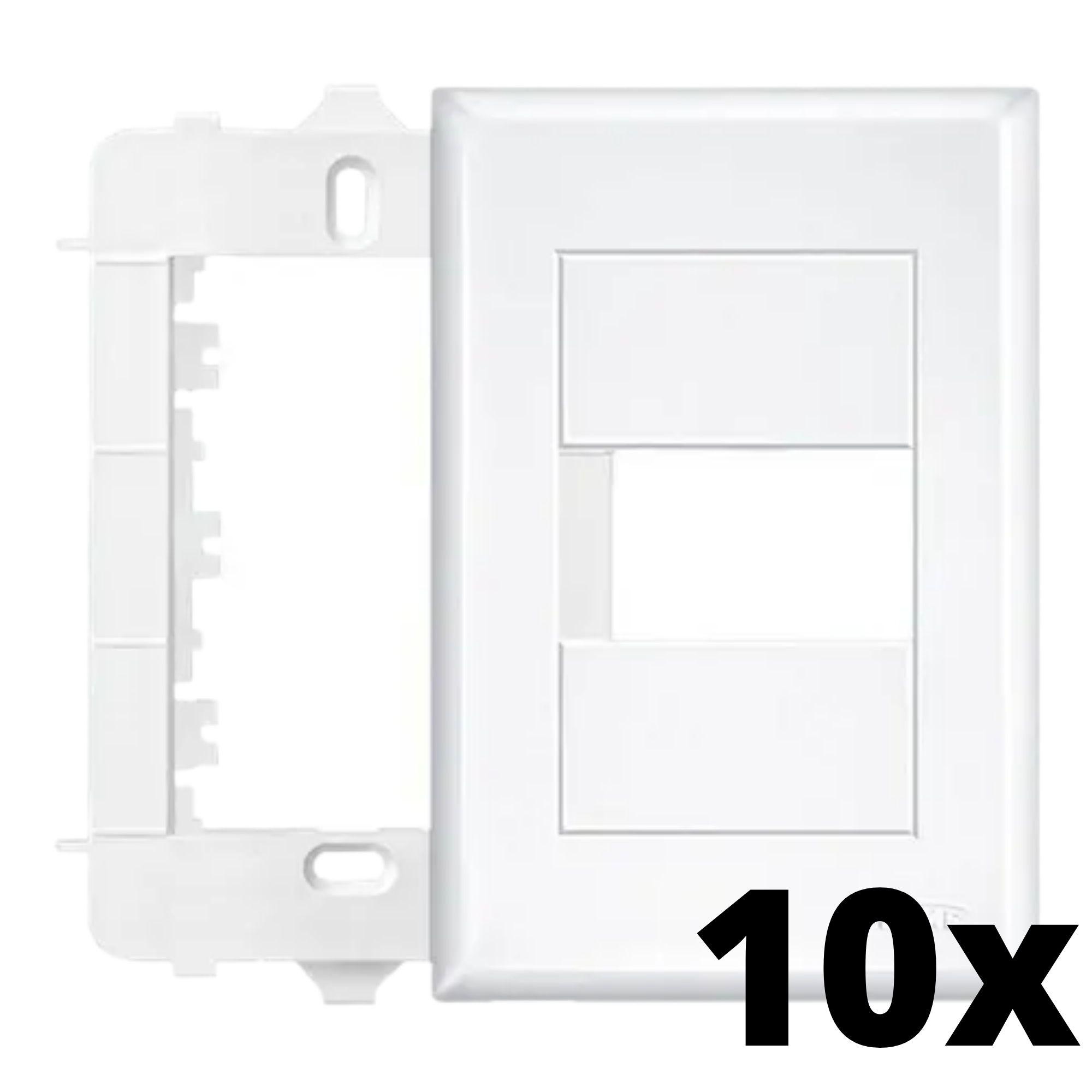 Kit 10 und Evidence Placa 4x2 1 Seção