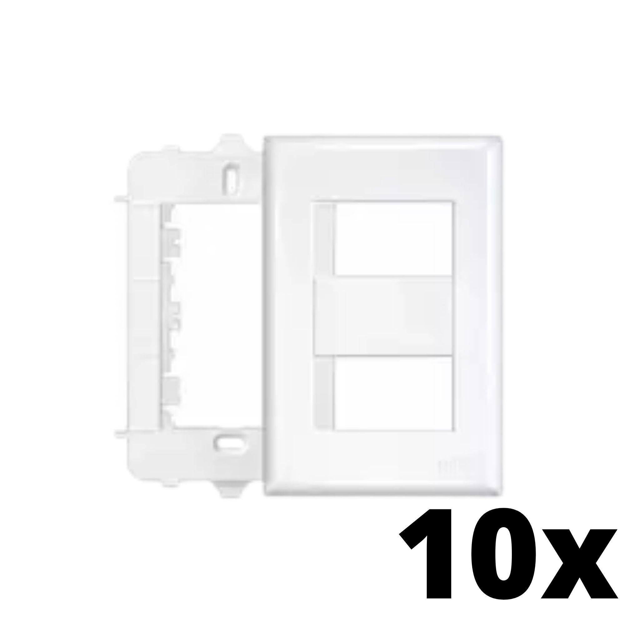 Kit 10 und Evidence Placa 4x2 2 Seções Distanciadas