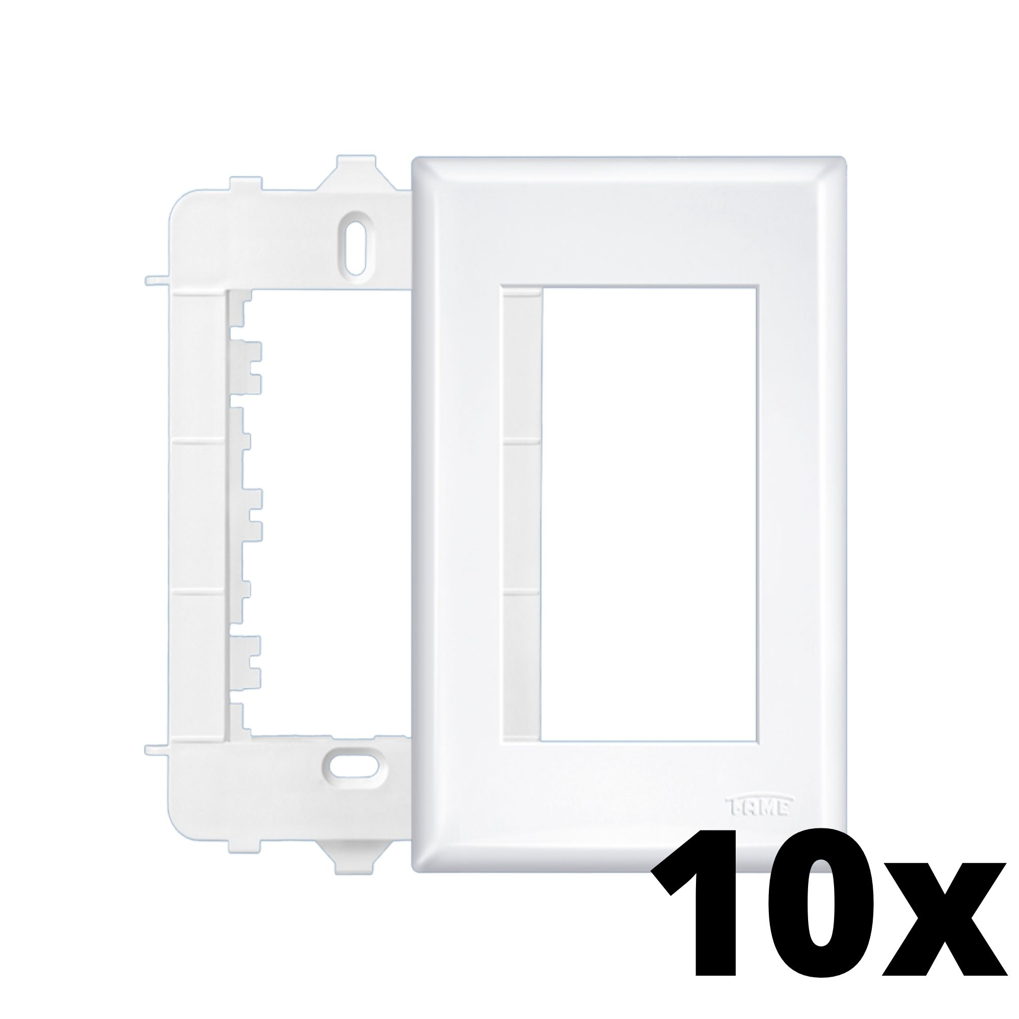 Kit 10 und Evidence Placa 4x2 3 Seções