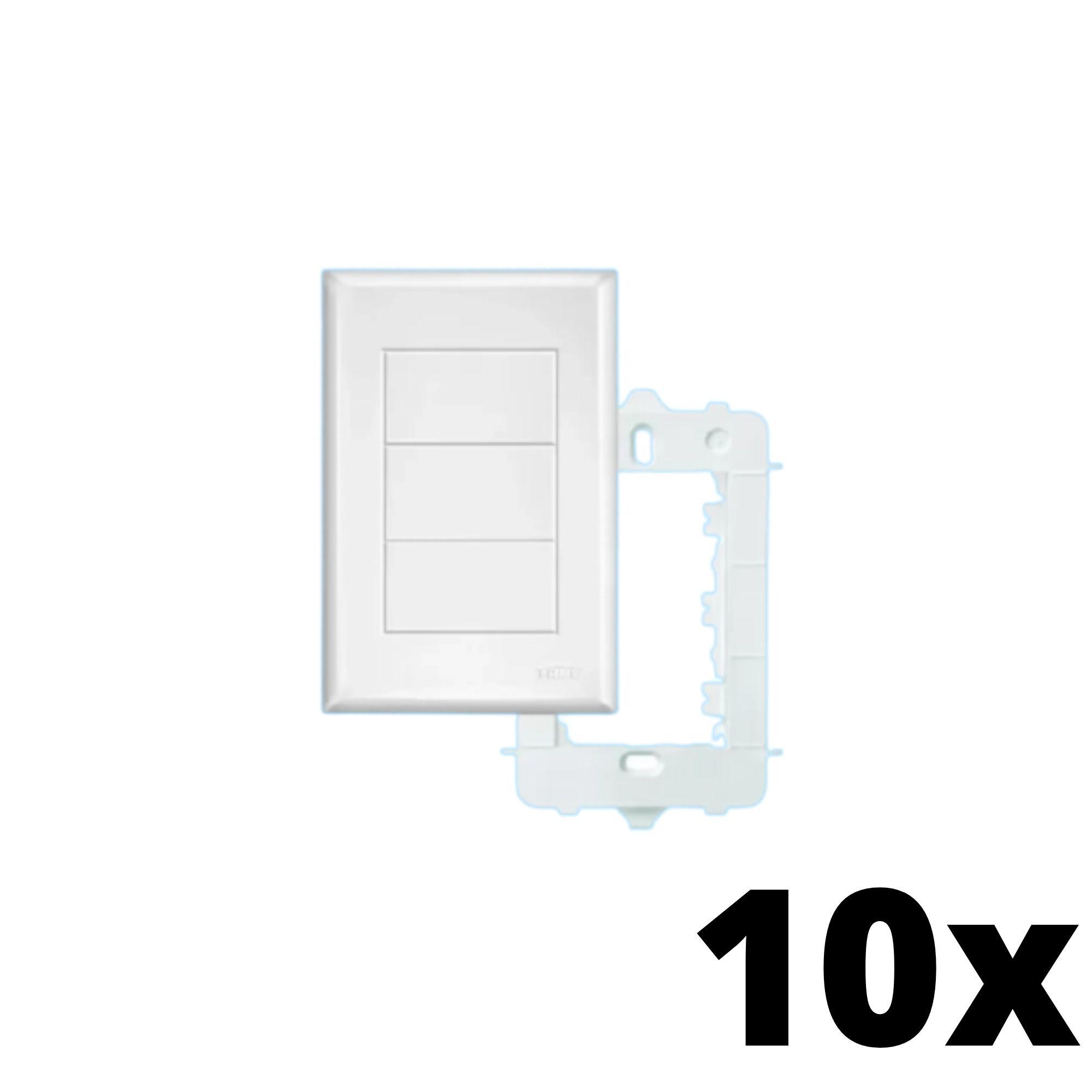 Kit 10 und Evidence Placa 4x2 Cega