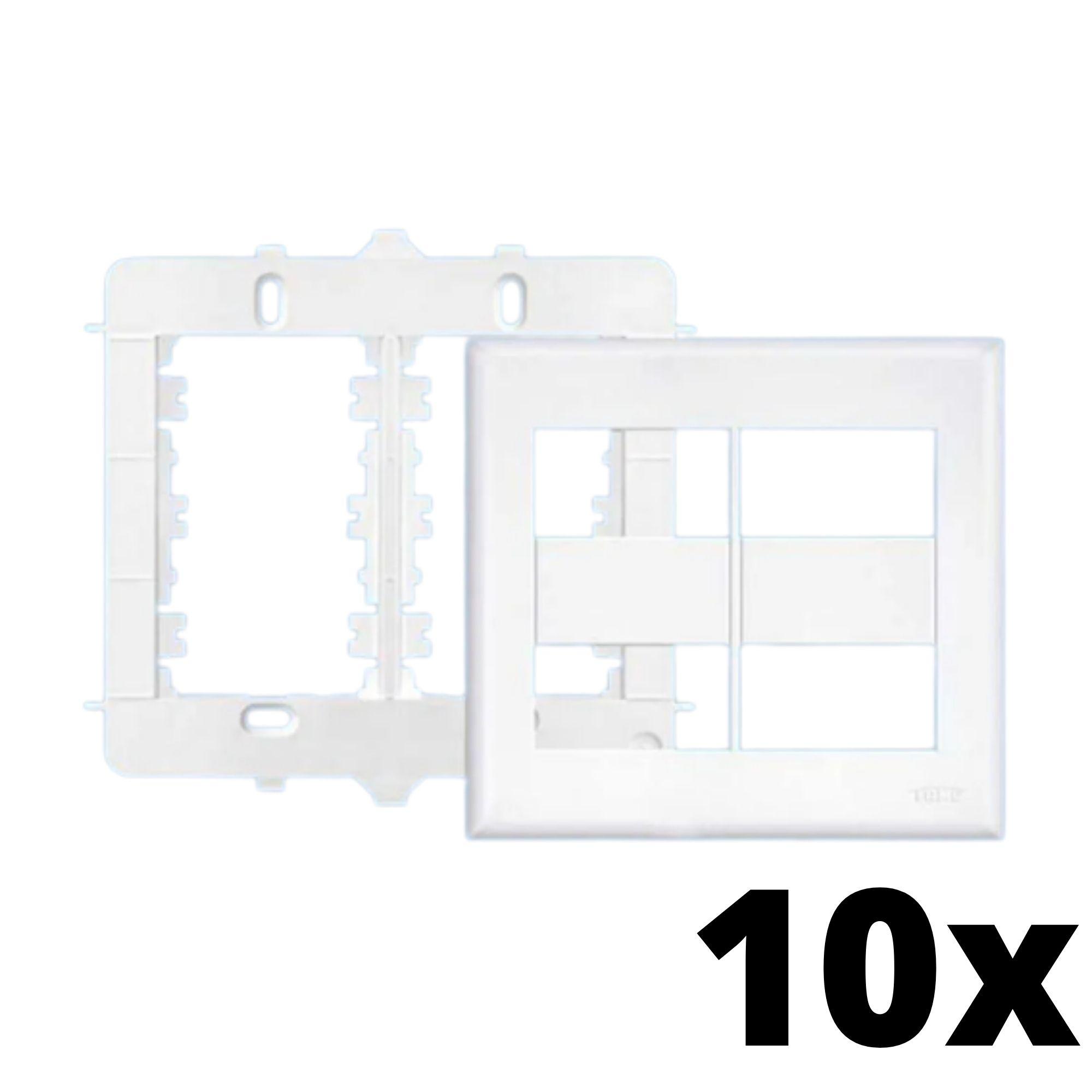 Kit 10 und Evidence Placa 4x4 2 Seções + 2 Seções