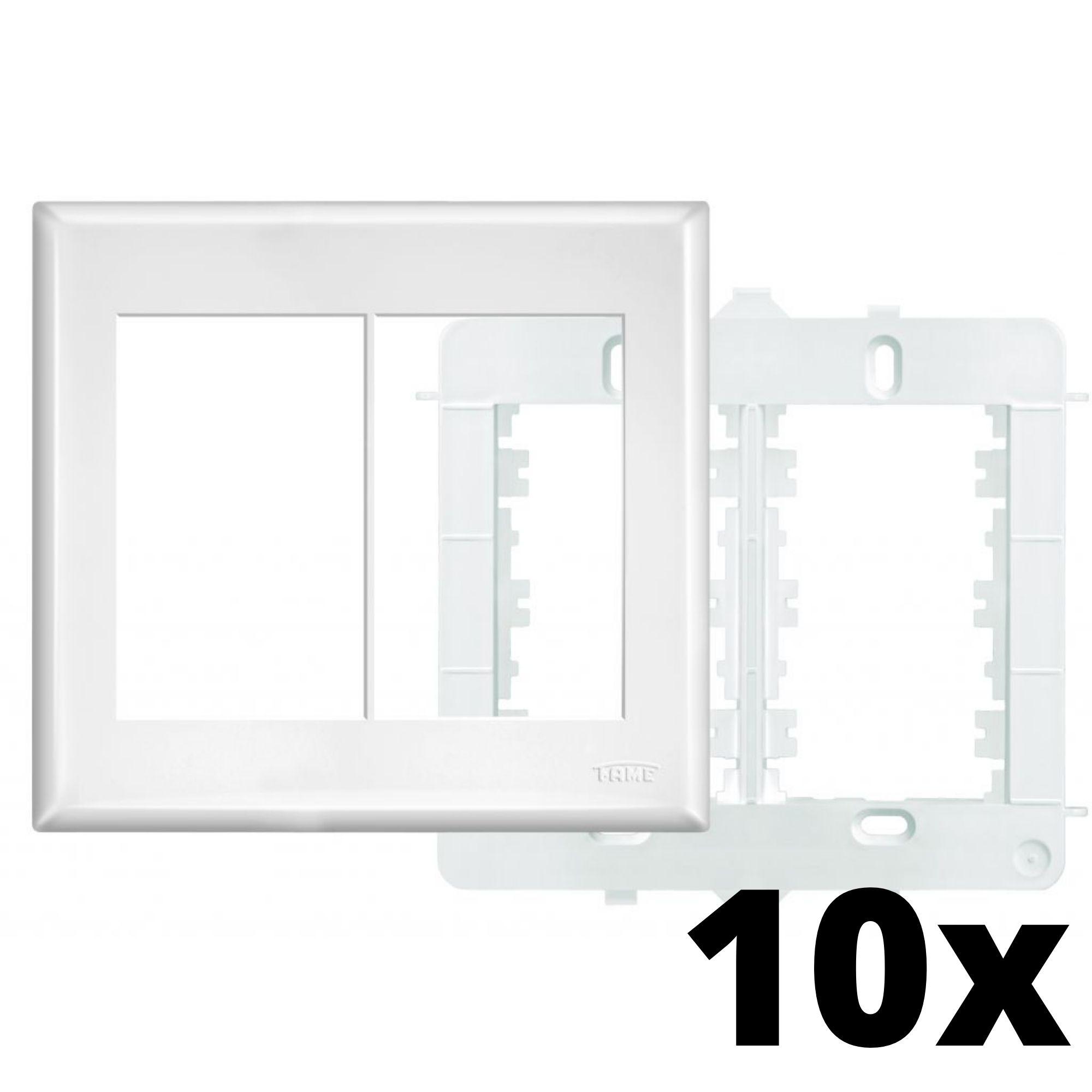 Kit 10  und Evidence Placa 4x4 3 Seções + 3 Seções