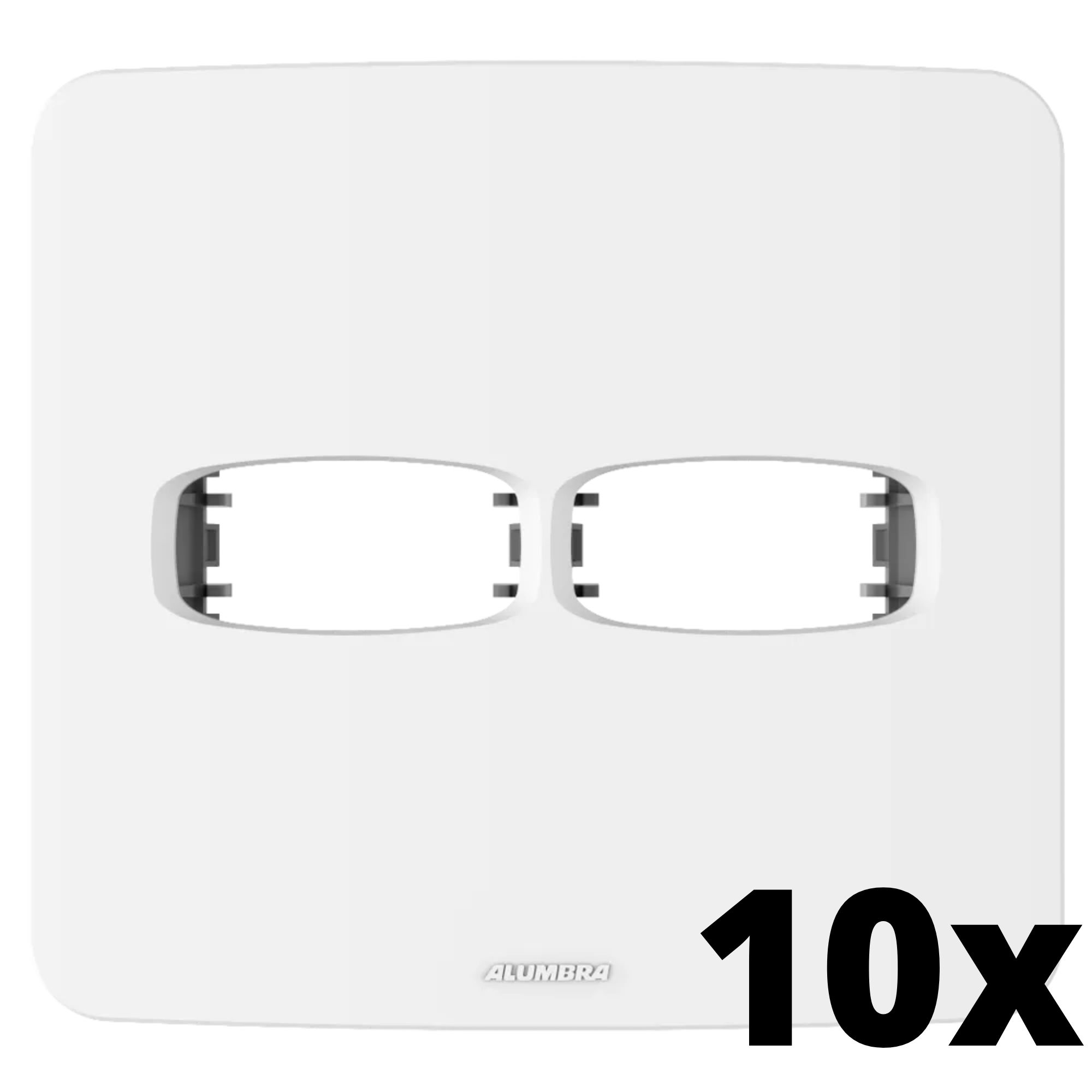 Kit 10 und Gracia Placa 4x4 1 Seção + 1 Seção
