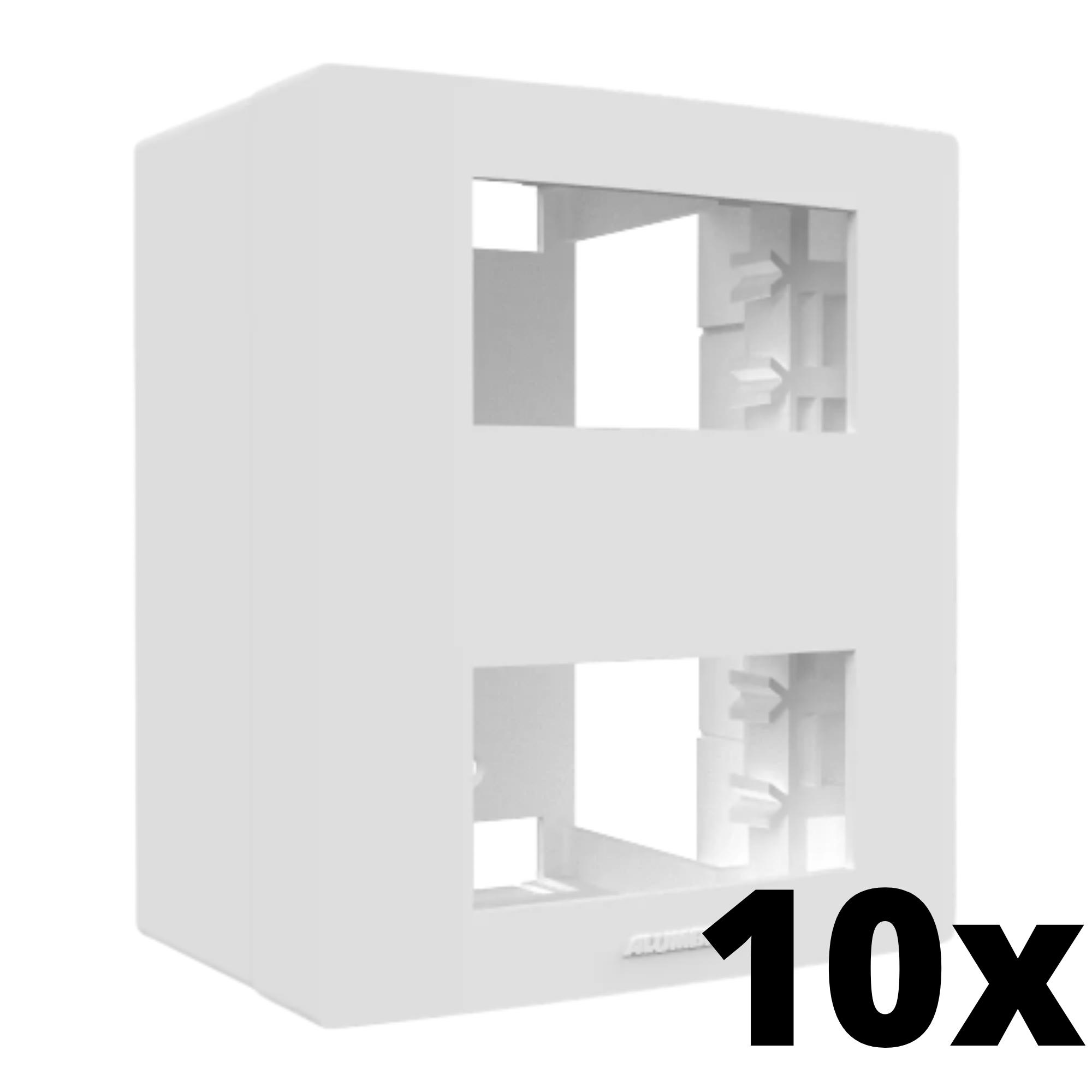 Kit 10 und Inova Pró Caixa Externa Para 2 Módulos