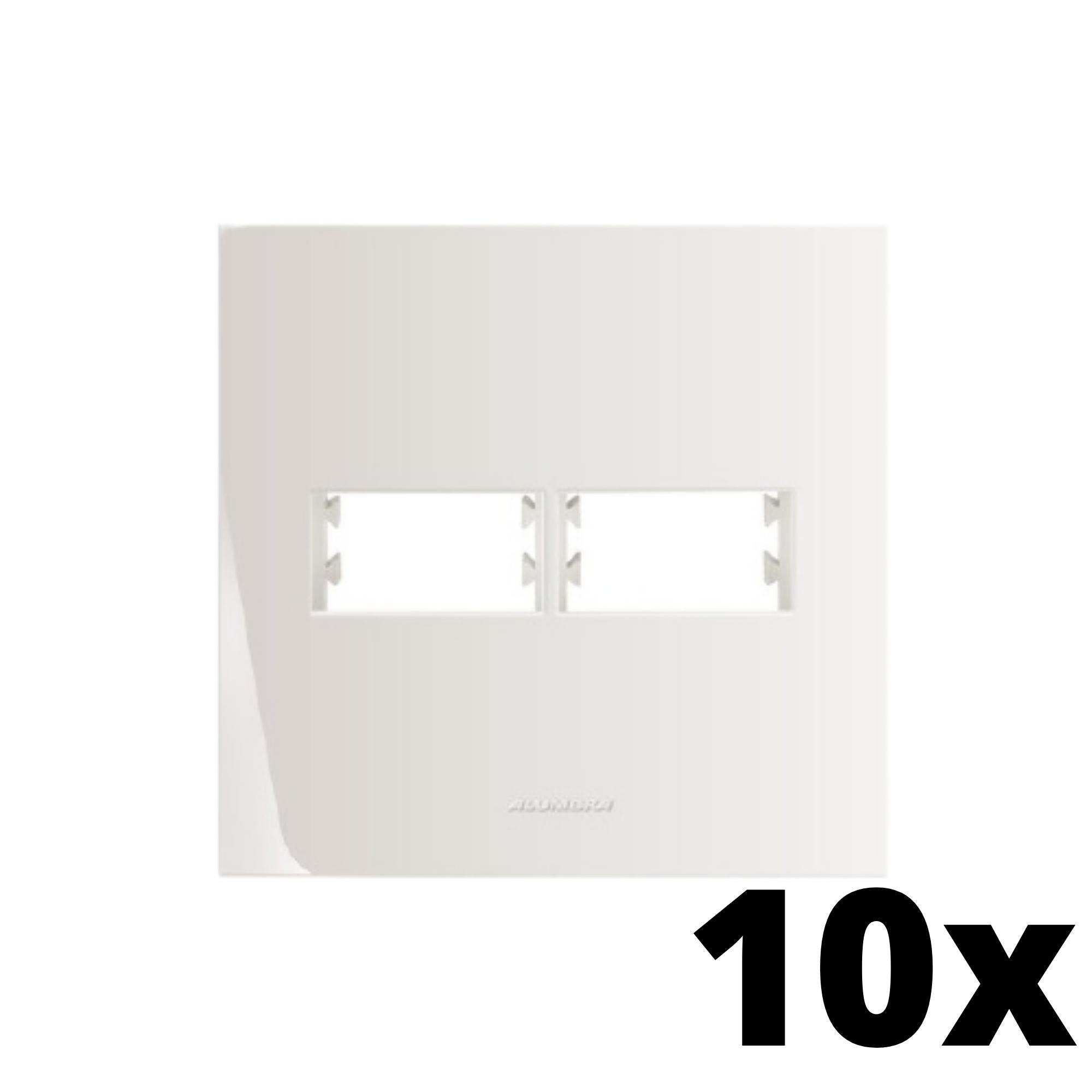 Kit 10 und Inova Pró Placa 4x4 1 Seção + 1 Seção
