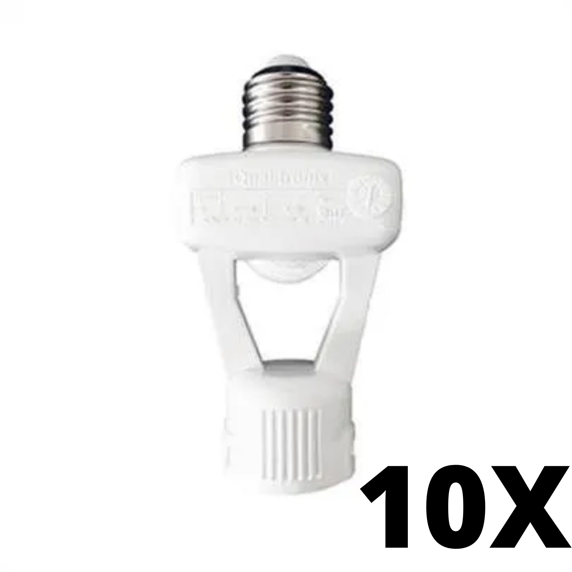 Kit 10 und Qualitronix Sensor de Presença Com Bocal Bivolt