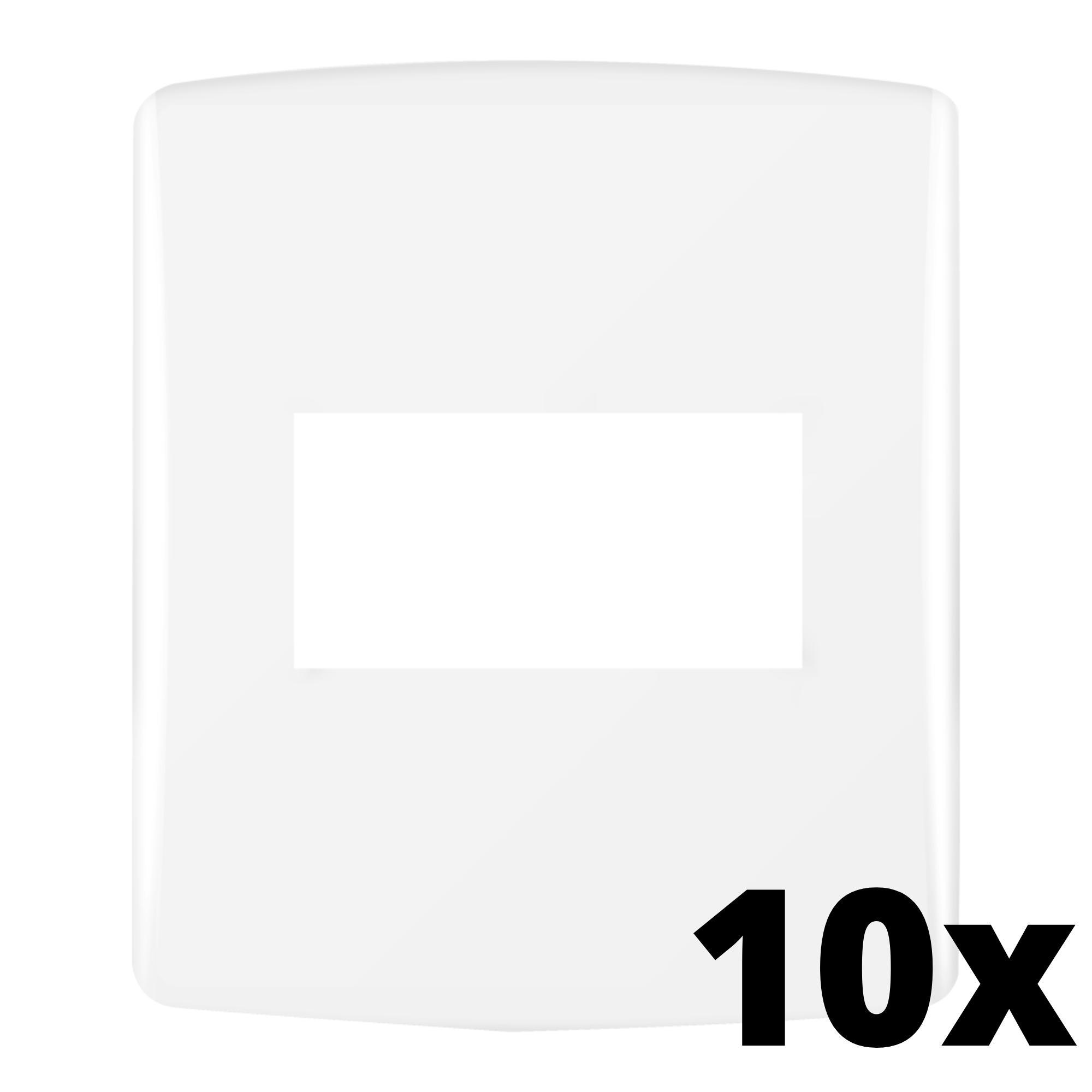 Kit 10 und Siena Fácil Placa 4x2 1 Seção