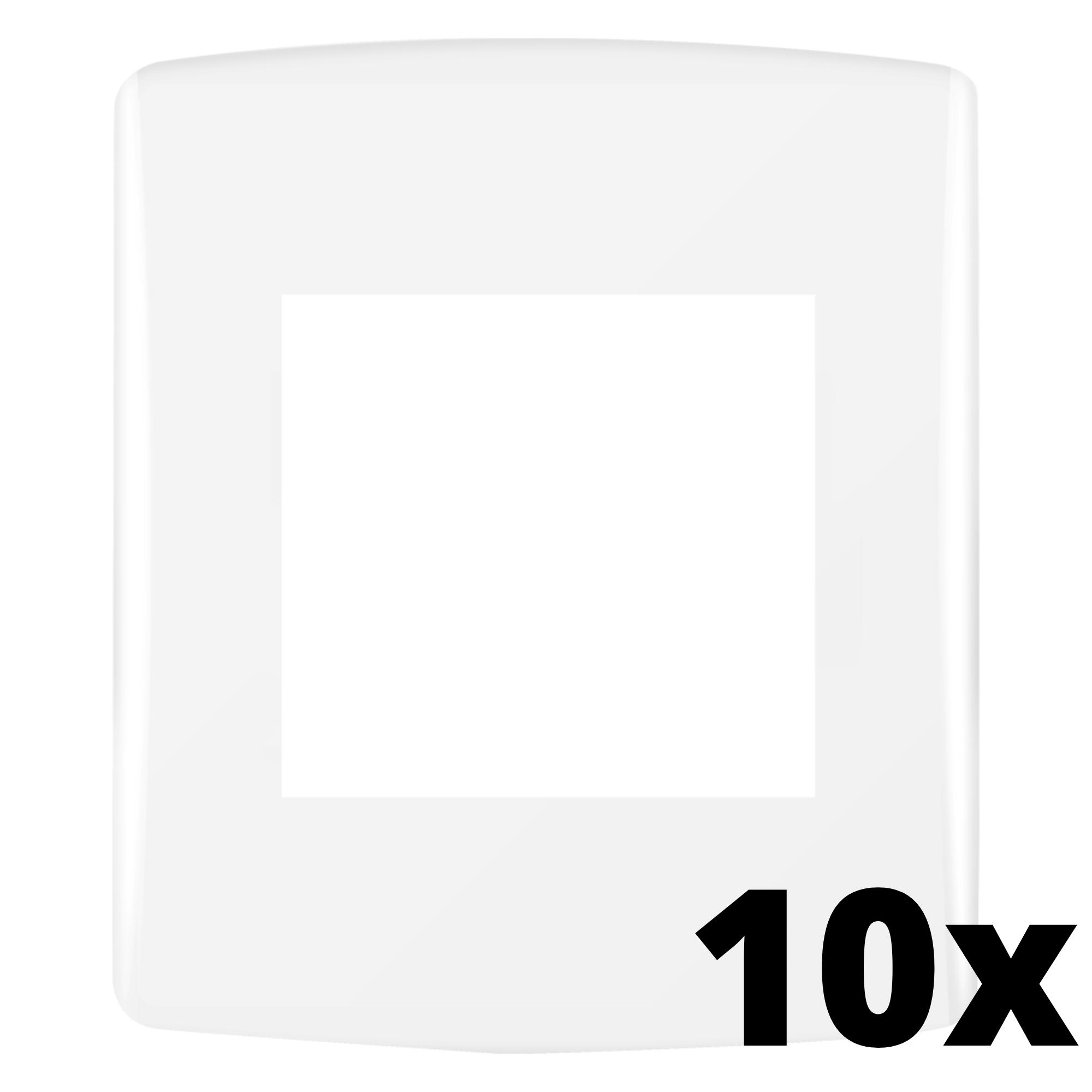 Kit 10 und Siena Fácil Placa 4x2 2 Seções