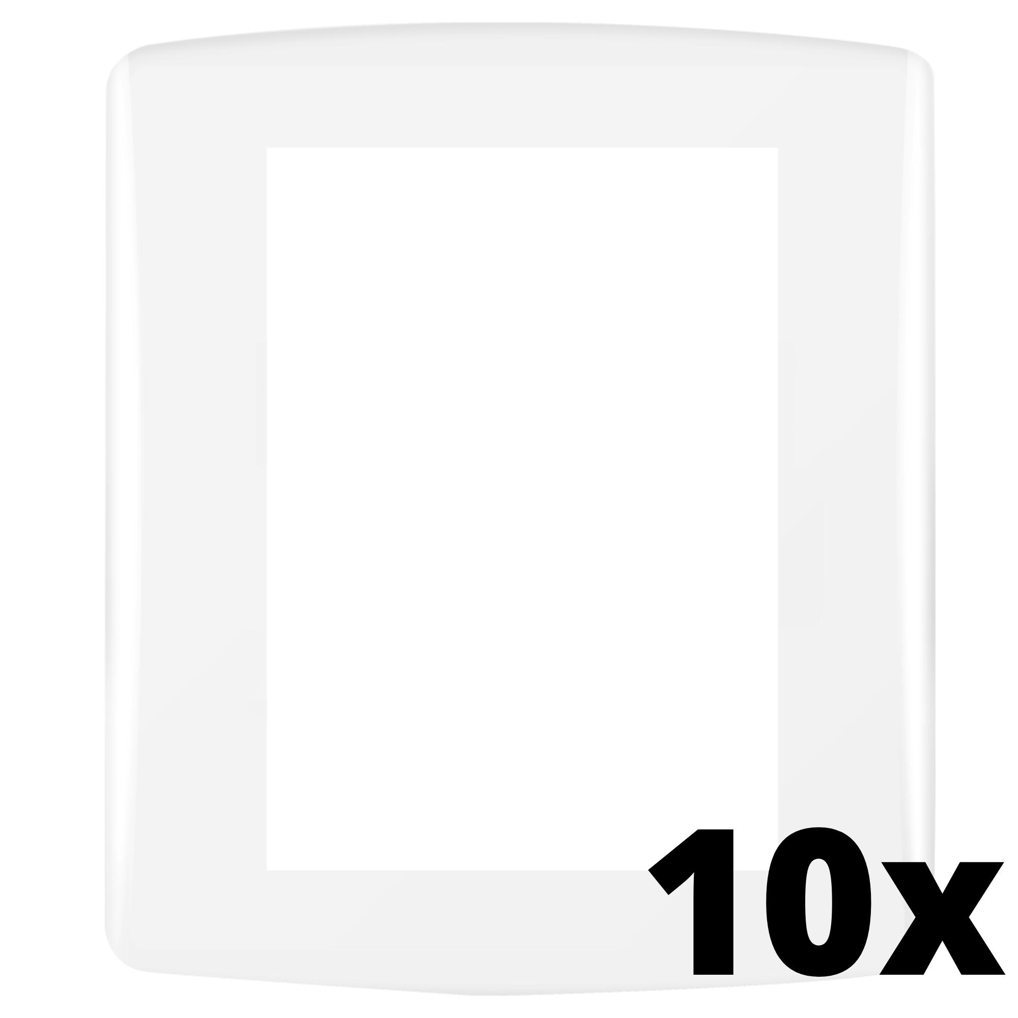 Kit 10 und Siena Fácil Placa 4x2 3 Seções