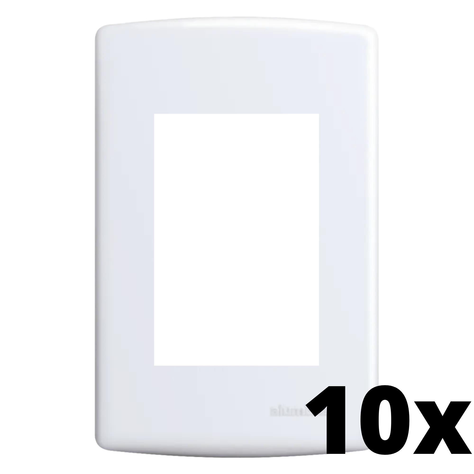 Kit 10 und Siena Placa 4x2 3 Seções