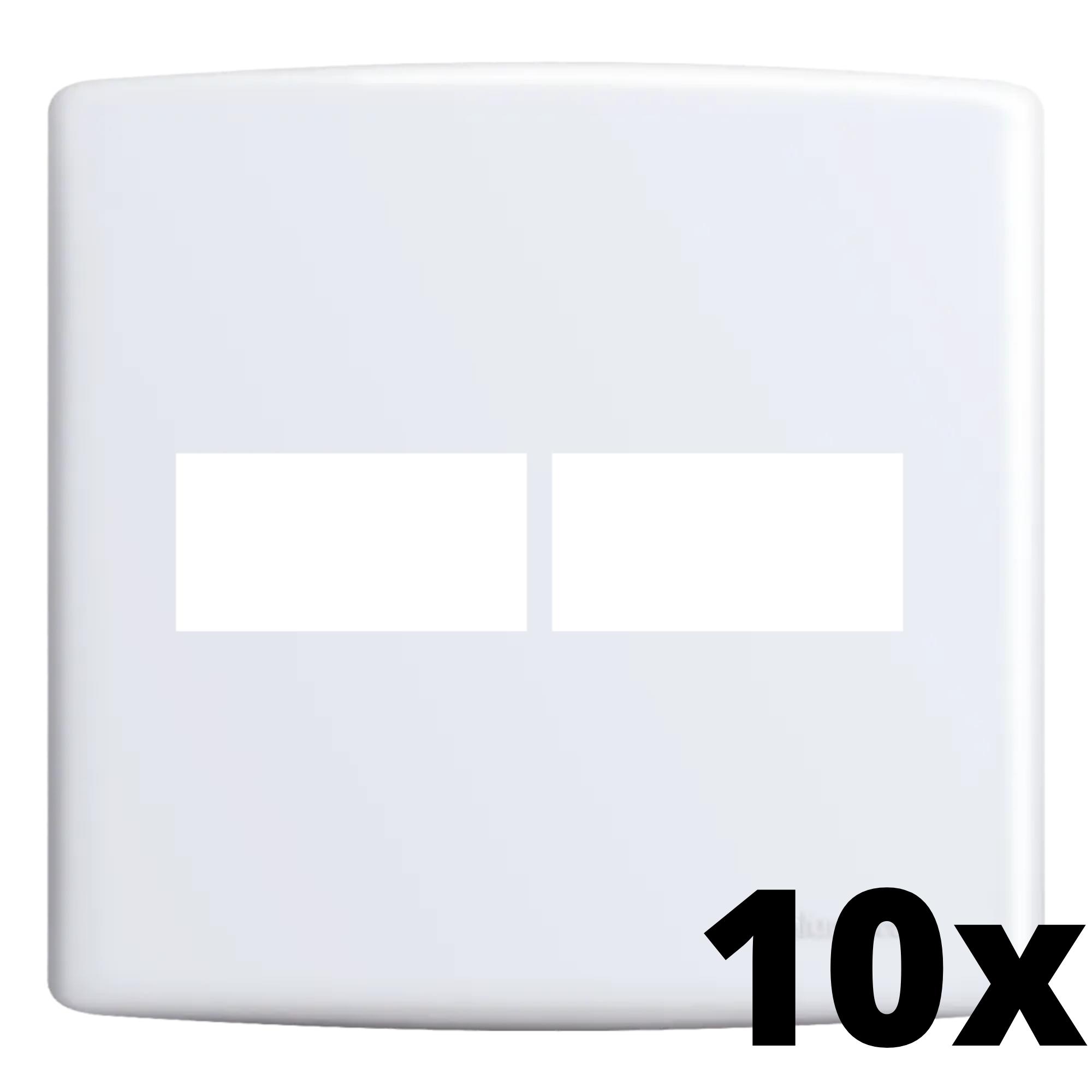 Kit 10 und Siena Placa 4x4 1 Seção + 1 Seção