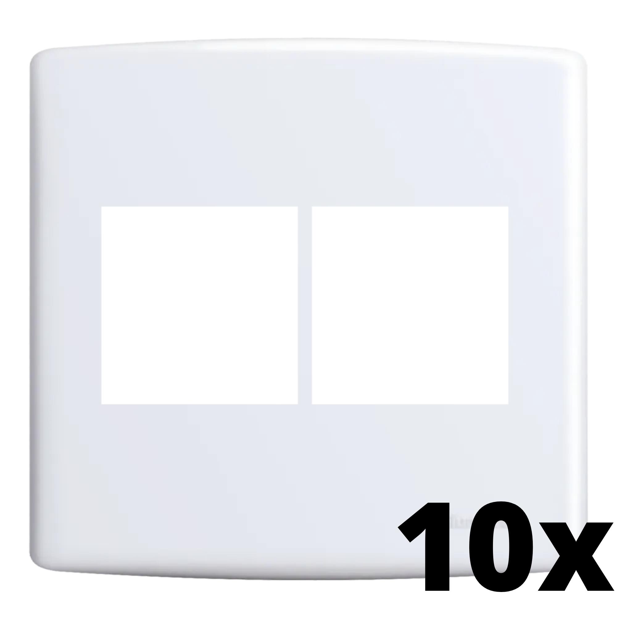 Kit 10 und Siena Placa 4x4 2 Seções + 2 Seções