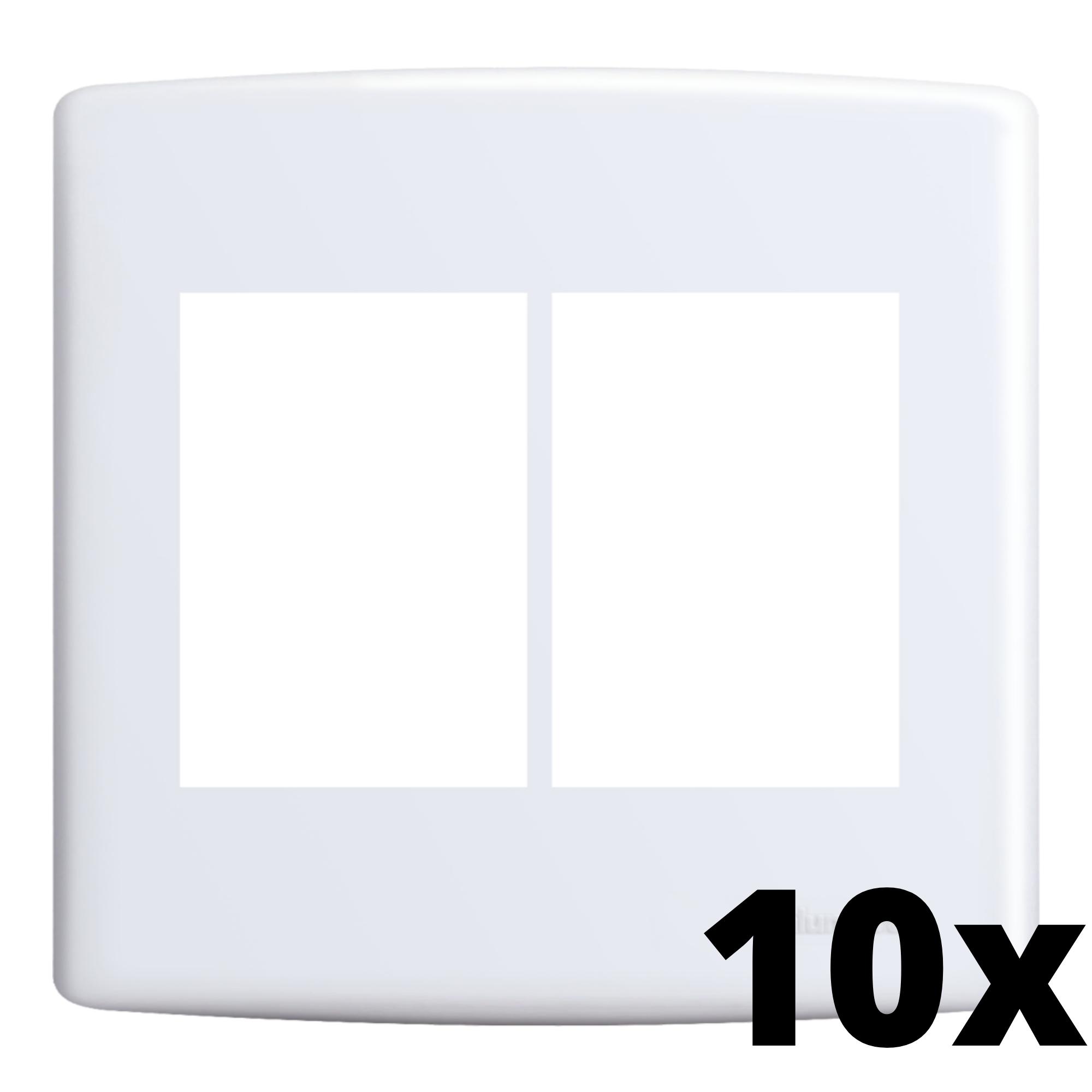 Kit 10 und Siena Placa 4x4 3 Seções + 3 Seções