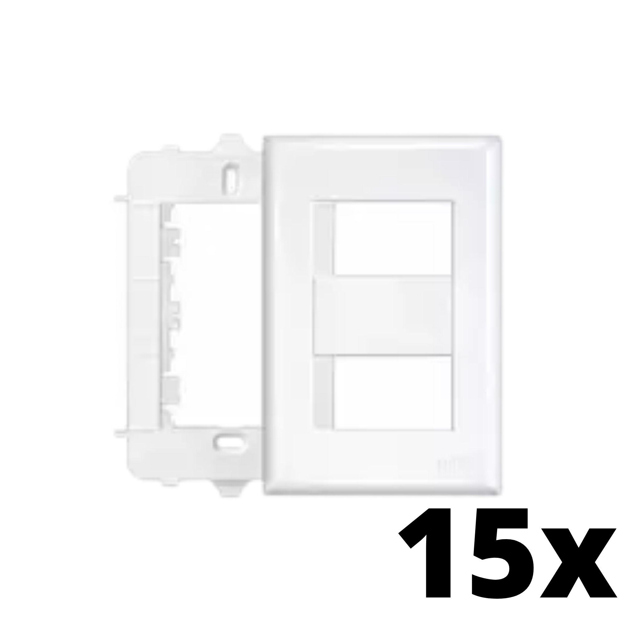 Kit 15 und Evidence Placa 4x2 2 Seções Distanciadas