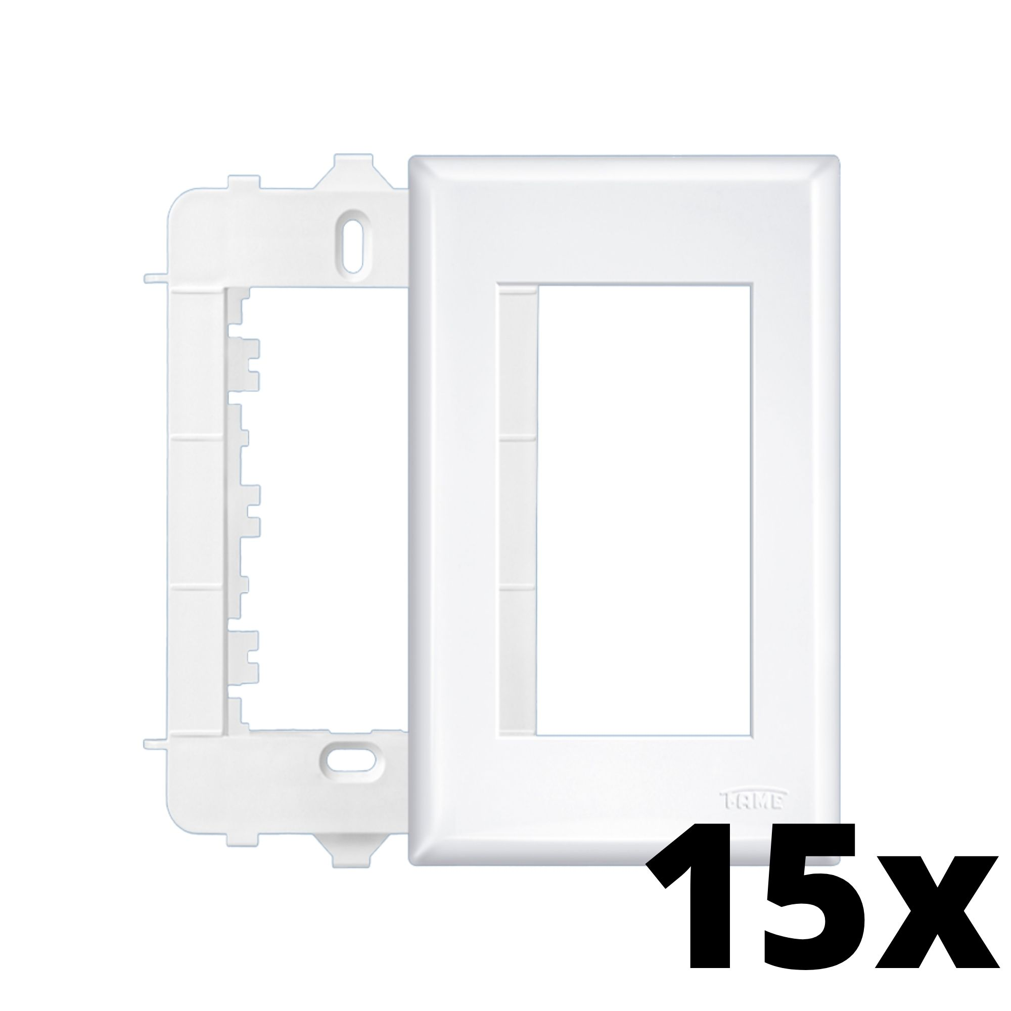 Kit 15 und Evidence Placa 4x2 3 Seções