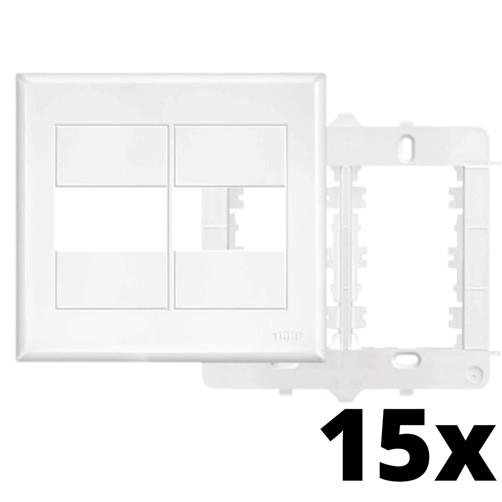 Kit 15 und Evidence Placa 4x4 1 Seção + 1 Seção